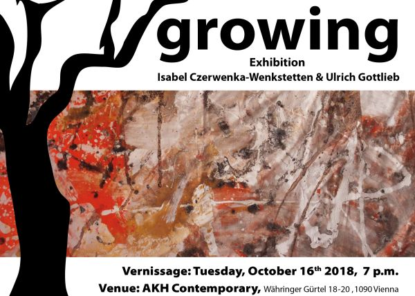 growing - exhibition event vienna AKH contemporary