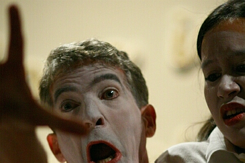 loop-art ulrich gottlieb pantomime mime koerpertheater